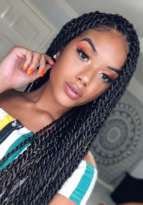 Simple and Stylish Twist Braids