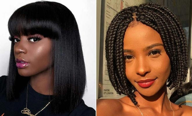 25 Bob Hairstyles for Black Women That are Trendy Right Now