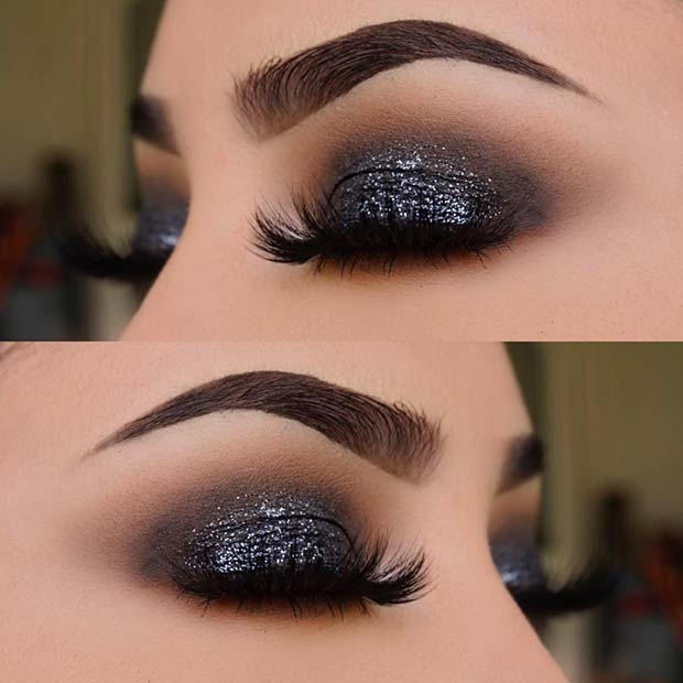 Chic, Dark Glitter Eyes