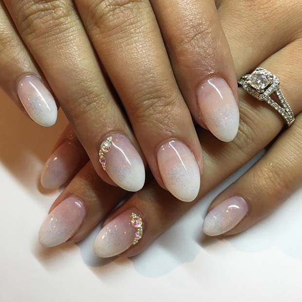 Pretty Ombre Gel Nails