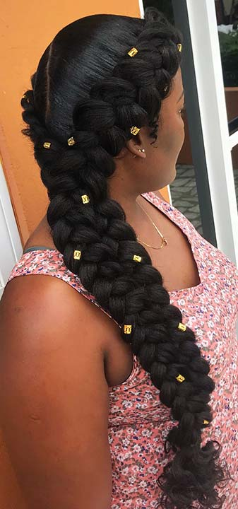 Double Butterfly Braids