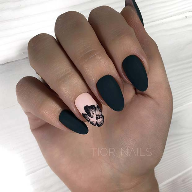 43 Pretty Nail Art Designs For Short Acrylic Nails Stayglam