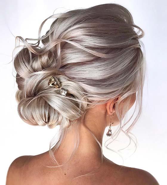 Elegant Wedding Hairstyle