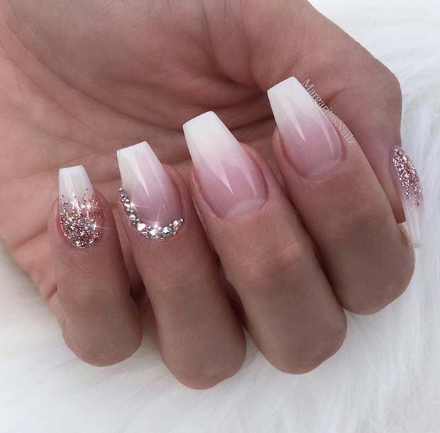 41 of the Most Beautiful French Ombre Nails | StayGlam