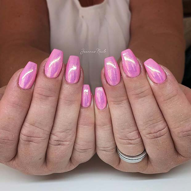 41 Classy Ways to Wear Short Coffin Nails | StayGlam