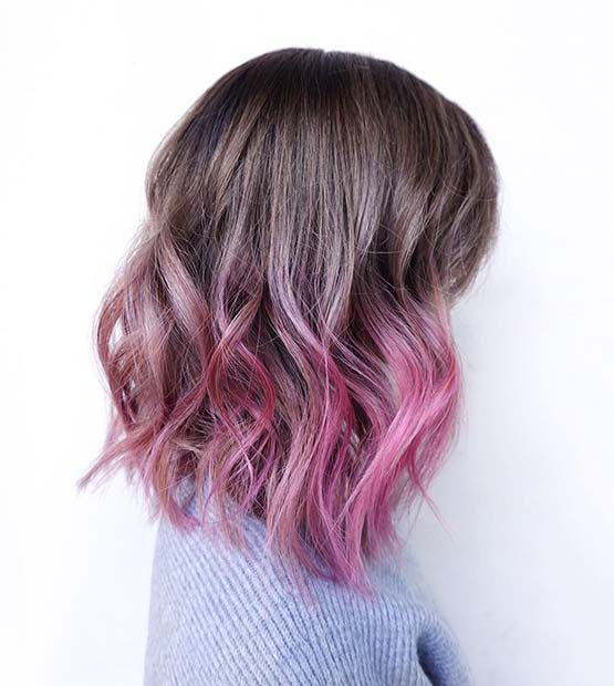 Soft Pink Ombre Lob &quot;width =&quot; 555 &quot;height =&quot; 620 &quot;/&gt;<p class=