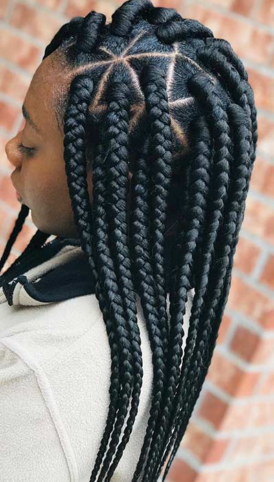 25 Braid Hairstyles with Weave That Will Turn Heads | StayGlam