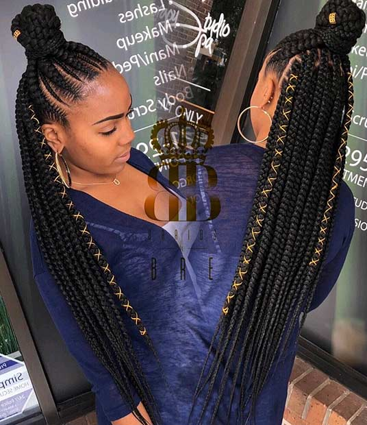 Braid Hairstyles with Weave That Will Turn Heads - crazyforus