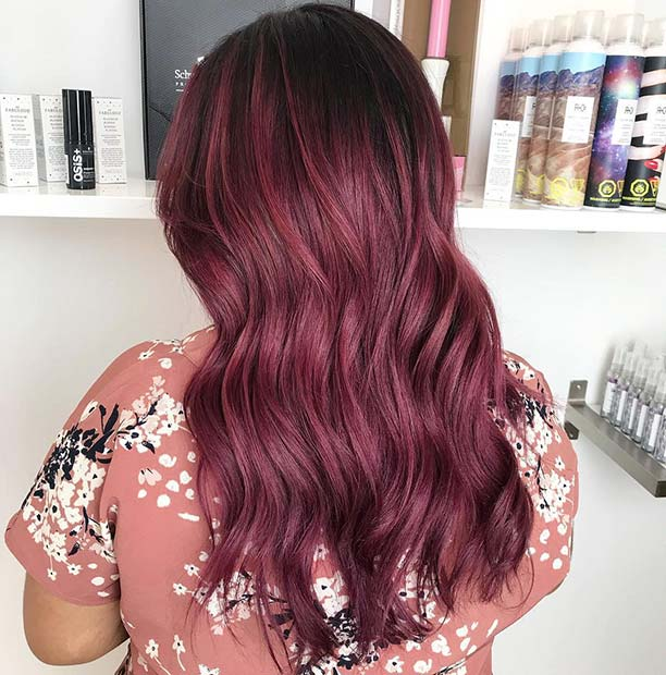 43 Burgundy Hair Color Ideas And Styles For 2019 Page 3 Of 4 Stayglam