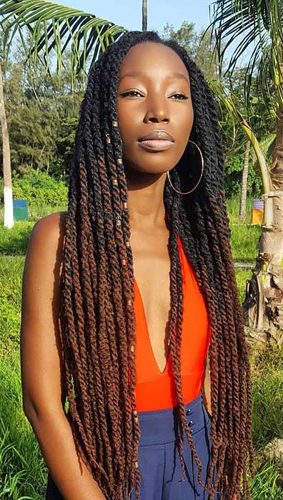 Long Ombre Marley Twists
