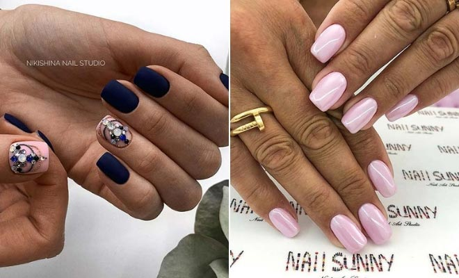 43 Pretty Nail Art Designs for Short Acrylic Nails | StayGlam
