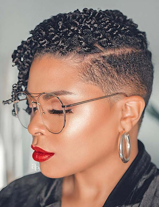 Short Haircut with Trendsetting Twists