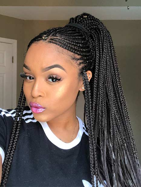 25 Braid Hairstyles with Weave That Will Turn Heads