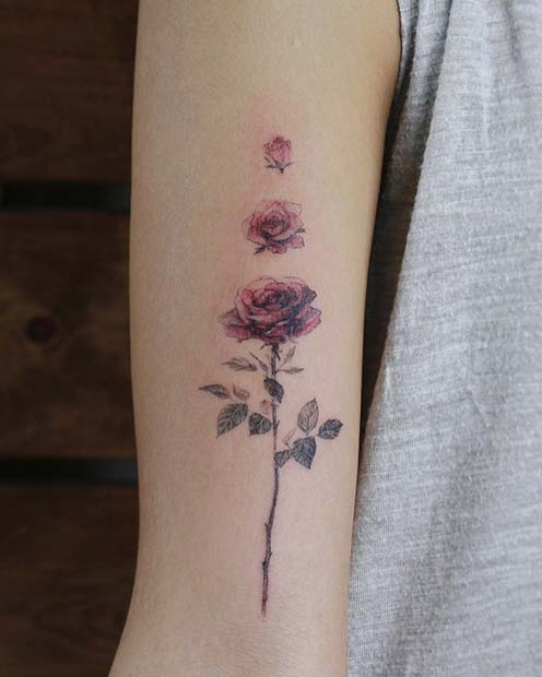 Cool Flower Tattoos: 43 Beautiful Flower Tattoos For Women