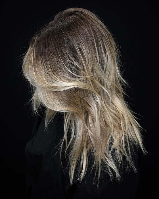 Beachy Layered Haircut