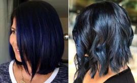 Blue Black Hair Color Ideas