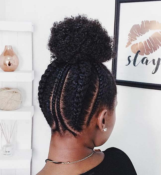 Braided Hairstyle for Natural Hair