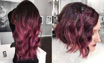Burgundy Hair Color Ideas