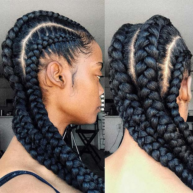 88 Best Black Braided Hairstyles To Copy In 2020 Page 4