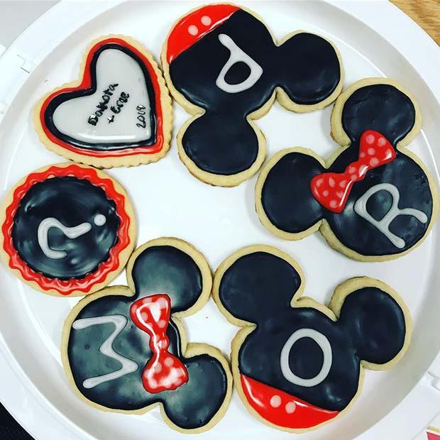 Disney Prom Cookies