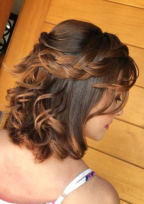 23 Quick And Easy Braids For Short Hair Stayglam