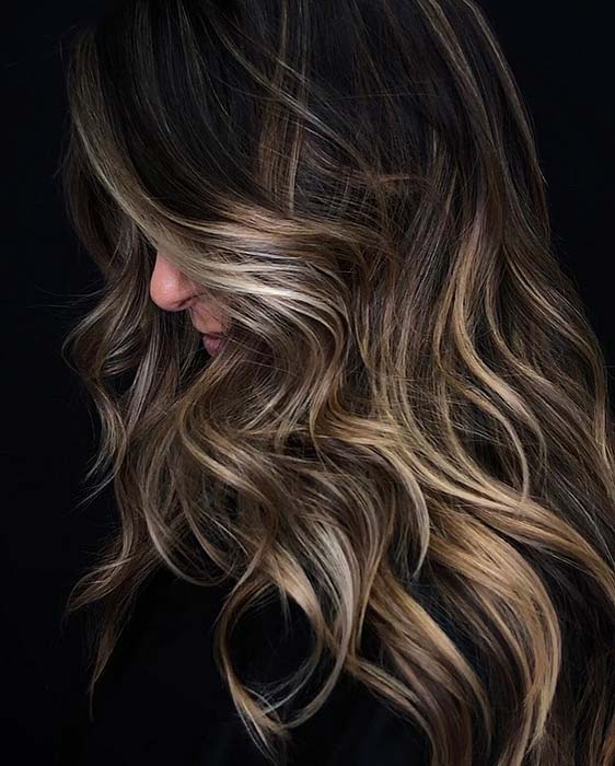 Glam Long Layered Haircut