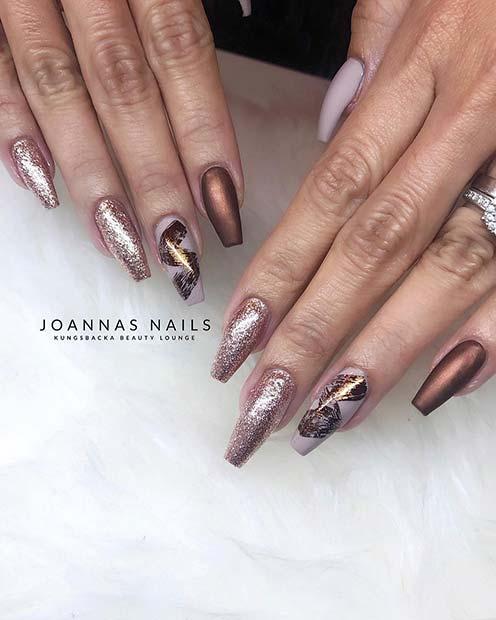 Elegant Nail Design for Long Nails