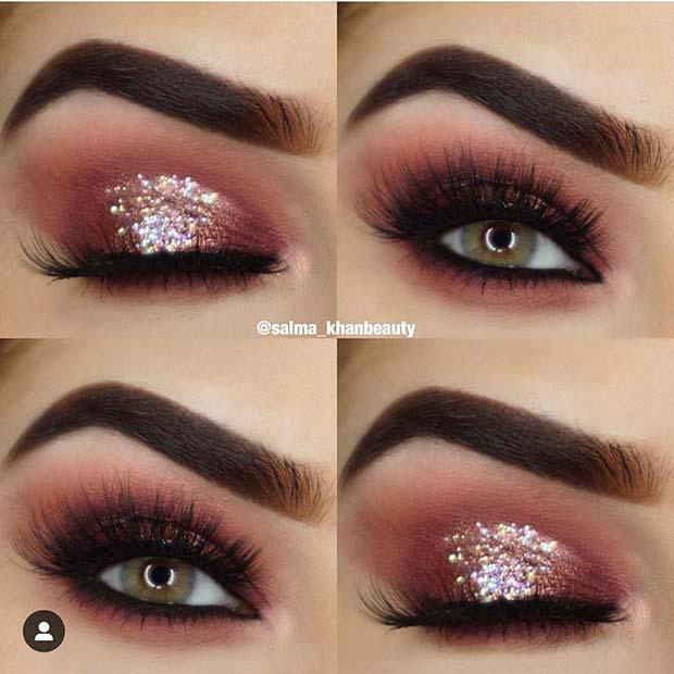 Glitz and Glamour Smokey Eyes