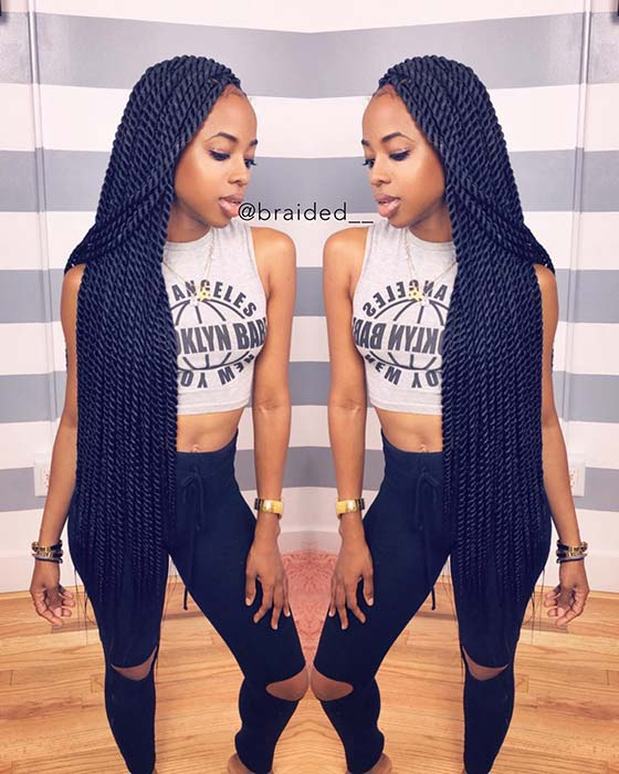Super Long Senegalese Twist