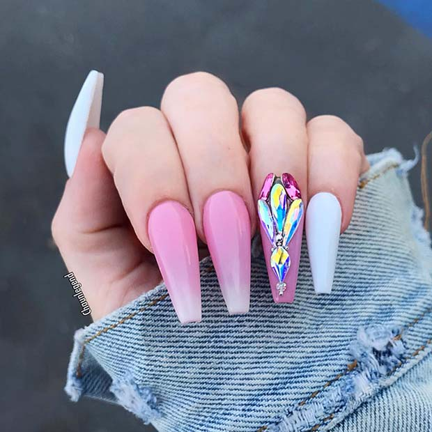 21 Tasteful Ways to Wear Long Coffin Nails | Page 2 of 2 ...