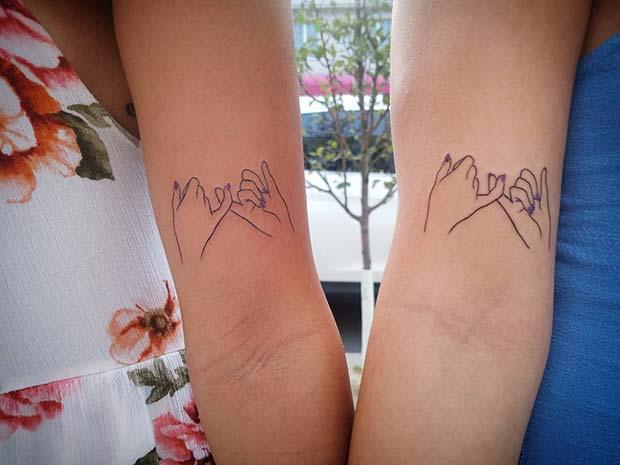 Pinky Promise Tattoo Idea