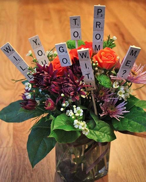 Prom Proposal Flowers