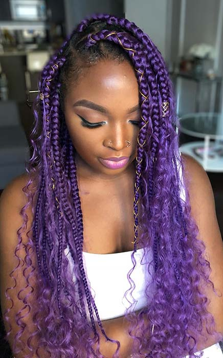 51 Goddess Braids Hairstyles For Black Women Page 5 Of 5