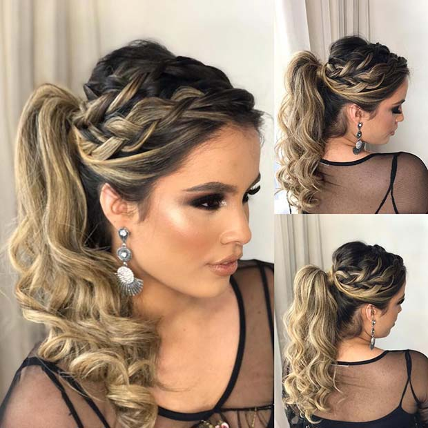 Magnificent 45 Elegant Ponytail Hairstyles For Special Occasions Page 4 Of 4 Schematic Wiring Diagrams Phreekkolirunnerswayorg