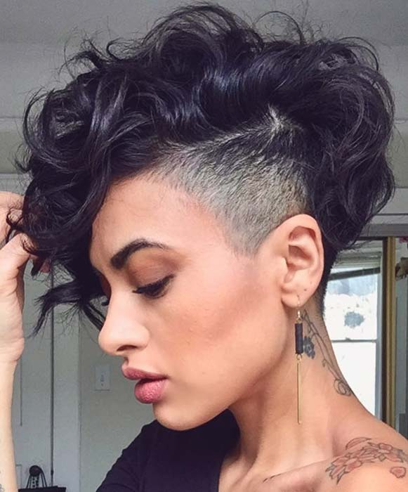 Edgy Short Haircut for Women