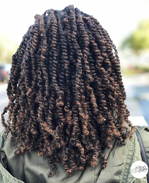 45 Gorgeous Passion Twists Hairstyles