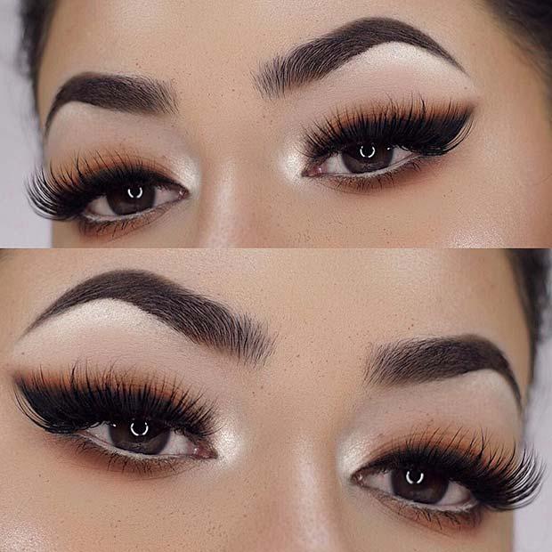 Trendy Eyeliner Makeup Idea