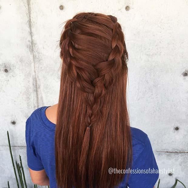 Corset Braids Hairstyle