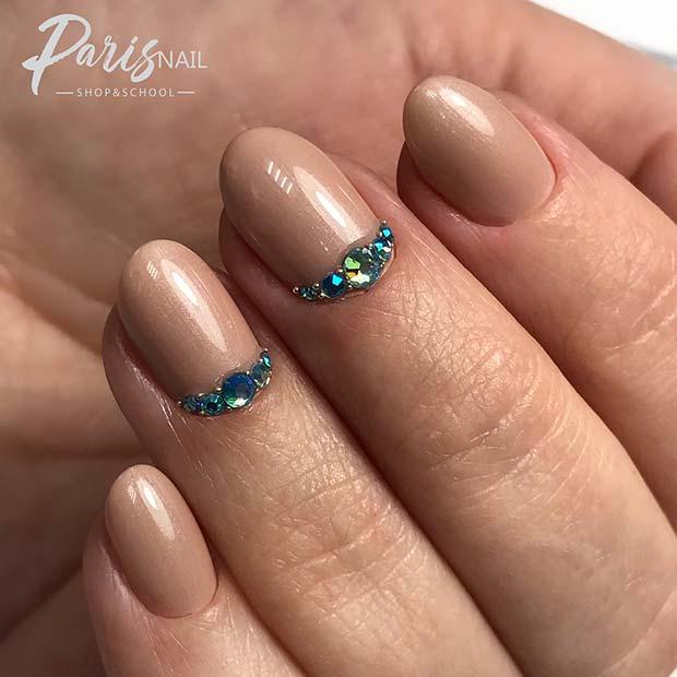 Elegant Nail Design for Short Nails