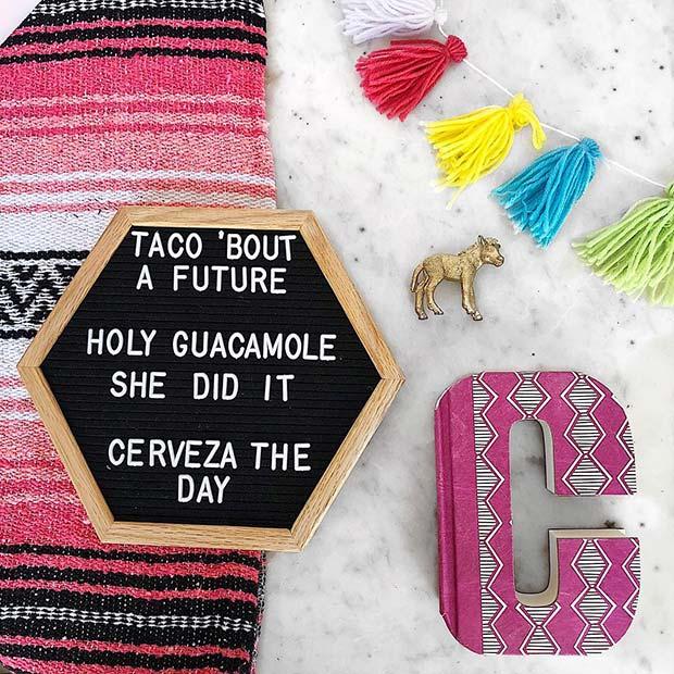 Cute Graduation Theme Idea