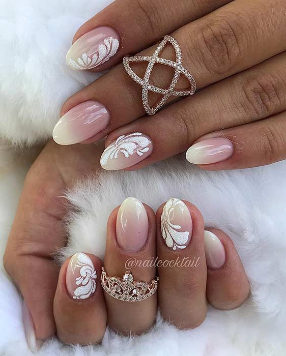 Elegant French Ombre Design for Short Nails
