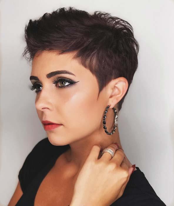 Glam Short Hair