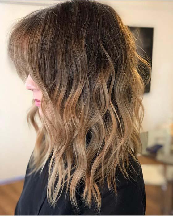 Warm Blonde Waves