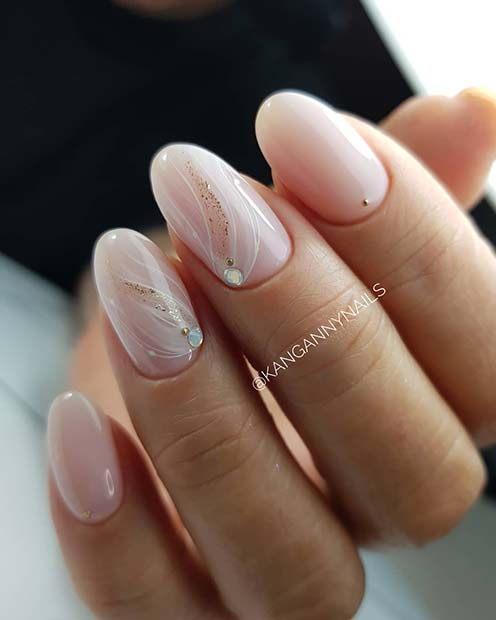Elegant Nails with Beautiful Nail Art