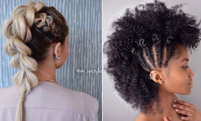 Mohawk Braid Styles