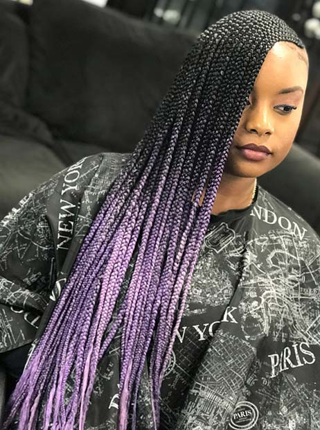 45 Best Ways To Rock Feed In Braids This Season Page 4