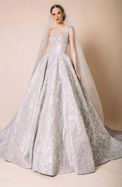 Silver Princess Bridal Gown