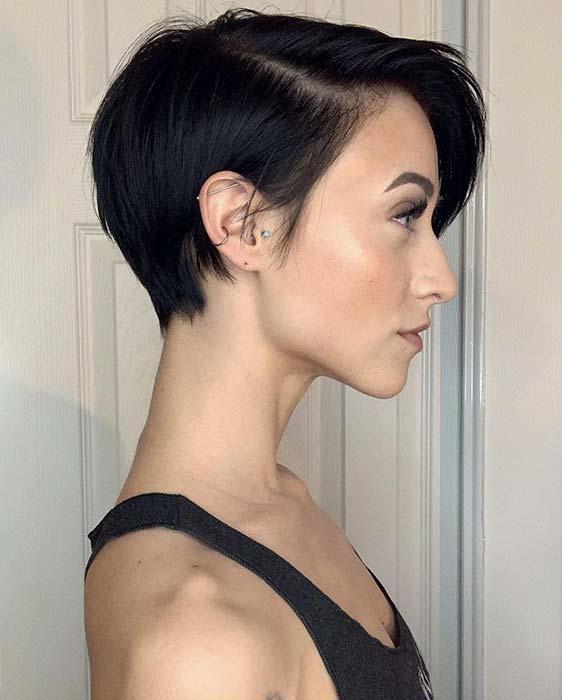 Sleek and Modern Short Haircut
