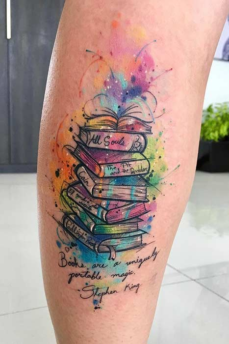 Awesome Tattoo Ideas For Book Lovers Page
