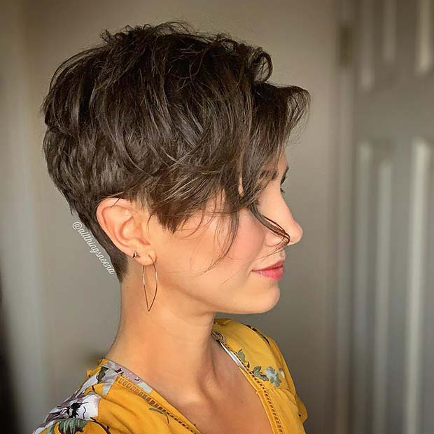 Trendy Pixie Cut